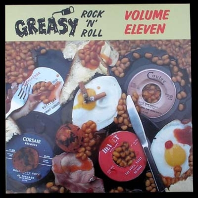 Greasy RocknRoll Vol 11 in the group Misc / Music / Vinyl at Sivletto - Skylark AB (4442)