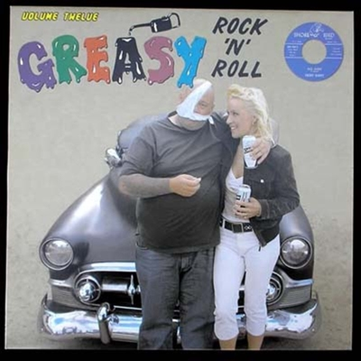 Greasy RocknRoll Vol 12 in the group Music & Film / Music / Vinyl at Sivletto - Skylark AB (4443)
