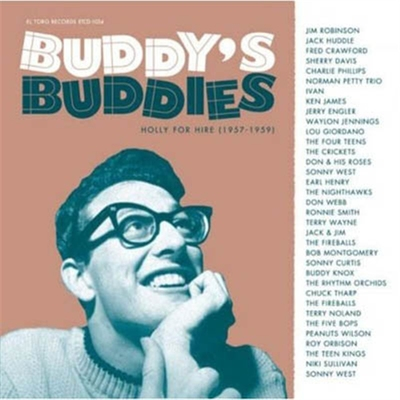 Buddy Holly - Buddy's Buddies: Holly for Hire 1957-1959 in the group Misc / Music / CD at Sivletto (5122)