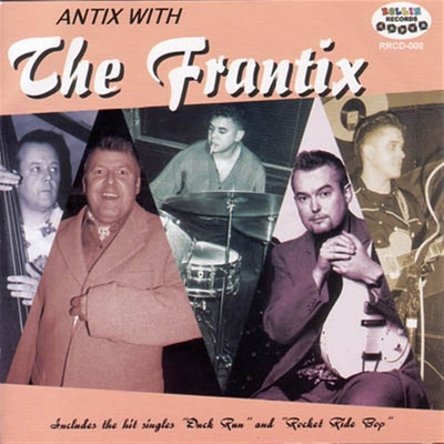 The Frantix - Antix with ... in the group Misc / Music / CD at Sivletto (5160)