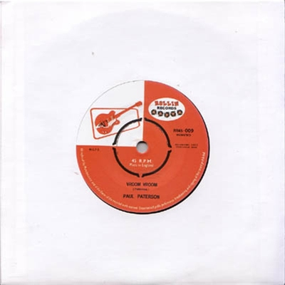 Paul Paterson - Vroom Vroom b/w Feelin' Good in the group Misc / Music / Vinyl at Sivletto (5332)
