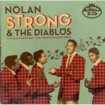 Nolan Strong & The Diablos - For Old Times Sake in the group Misc / Music / CD at Sivletto (5830)