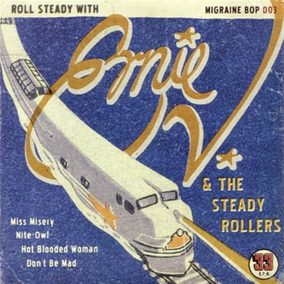 Ernie V & the Steady Rollers - Miss Misery / Nite-Owl / Hot Blooded Woman / Don't Be Mad in the group Misc / Music / Vinyl at Sivletto (5947)