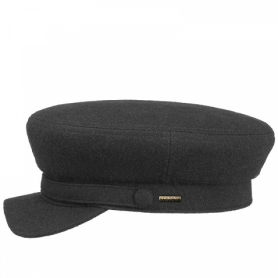 Stetson Riders Cap Wool Black in the group Men / Headwear / Flat caps at Sivletto - Skylark AB (6290110-1)