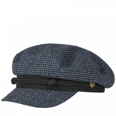 Stetson Riders Cap Wool Check in the group Men / Headwear / Sailor hats at Sivletto - Skylark AB (6290301-122)