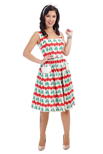 213a1a0c137 Collectif Nora abstract swing dress in the group Clearance   Women   Dresses  at Sivletto -