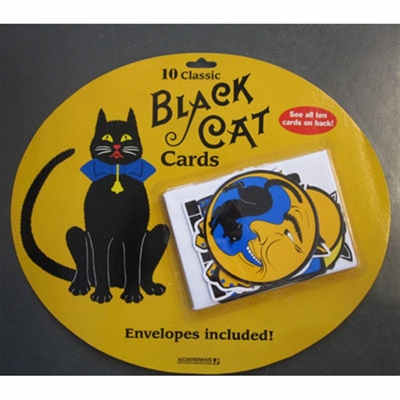 Accoutrements Black cat cards in the group Home and stuff / Office and stationary at Sivletto (652)
