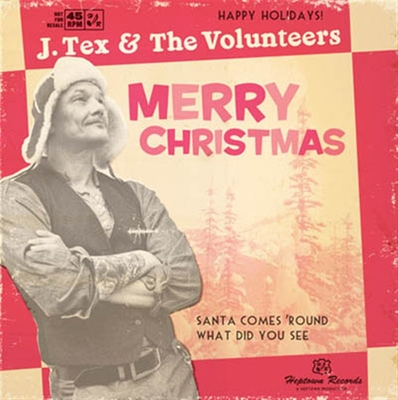 J.Tex & The Volunteers - Merry Christmas (Vinyl) in the group Misc / Music / Vinyl at Sivletto (6854)