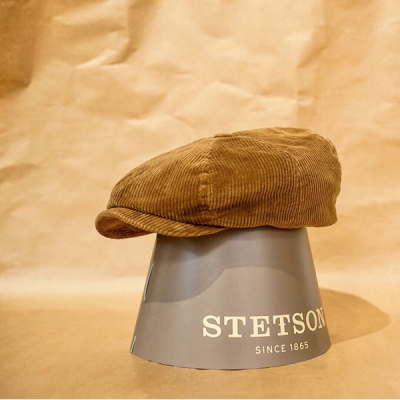 Stetson 8-panel Cap Corduroy in the group Men / Headwear / Flat caps at Sivletto - Skylark AB (6861101-7)