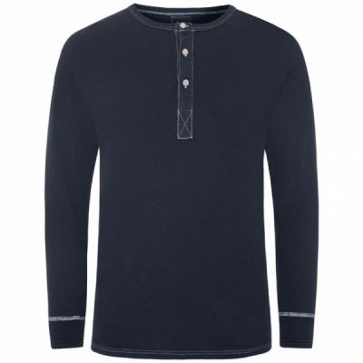 Resteröds Grandpa Shirt Original Navy in the group Men / T-shirts at Sivletto - Skylark AB (7022-04-101)