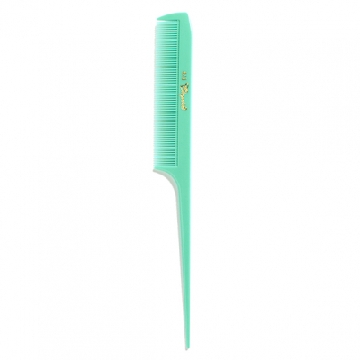 Cleopatra 1950s Fine Toothed Rattail Comb Mint in the group Grooming / Ladies hairstyling at Sivletto - Skylark AB (7356M)