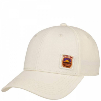 Stetson Baseball Cap Off-White in the group  at Sivletto - Skylark AB (7721111-10)