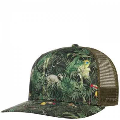 Stetson Jungle Trucker Cap Green in the group  at Sivletto - Skylark AB (7781909-99)