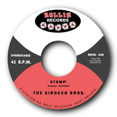 The Sirocco Bros - Flying Saucers / Stomp in the group Music & Film / Music / Vinyl at Sivletto - Skylark AB (7822)