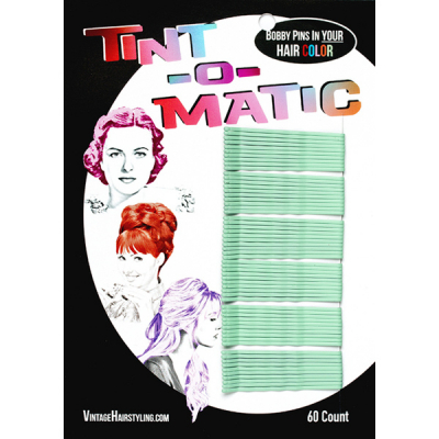 Tint-o-Matic Bobby Pins Mint in the group Hair and skincare / Ladies hairstyling at Sivletto - Skylark AB (7851M)