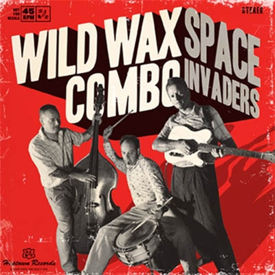 Wild Wax Combo - Space Invaders (Vinyl EP) in the group Misc / Music / Vinyl at Sivletto - Skylark AB (7874)