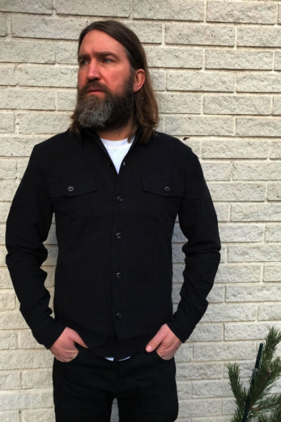 Resteröds Shirt-Jacket in the group Clearance / Men / Shirts at Sivletto - Skylark AB (8173-6154-09)