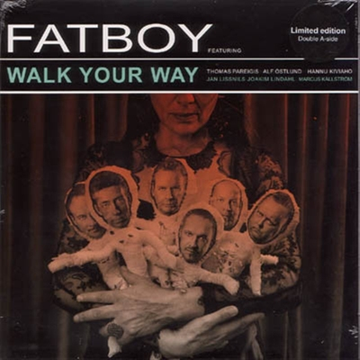 Fatboy - Walk Your Way b/w I Don't Wanna Get There in the group Misc / Music / Vinyl at Sivletto (8196)