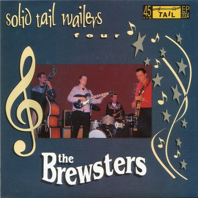 The Brewsters - Solid Tail Wailers Four e.p. in the group Misc / Music / Vinyl at Sivletto (8407)