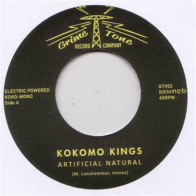 Kokomo Kings - Artificial Natural b/w I Know Where To Go in the group Misc / Music / Vinyl at Sivletto (8456)