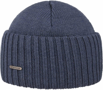 Stetson Northport Beanie Denim in the group Men / Headwear / Beanies at Sivletto - Skylark AB (85193-01-25)