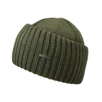 Stetson Northport Beanie Green in the group Men / Headwear / Beanies at Sivletto - Skylark AB (85193-01-52)