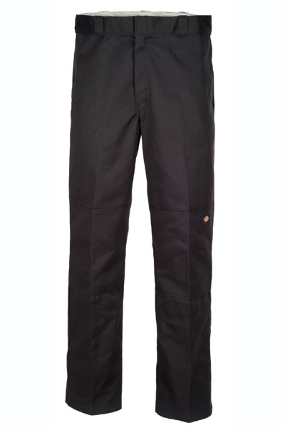 Dickies Double knee work pant black in the group Sale! / Men / Trousers at Sivletto - Skylark AB (85283BK)