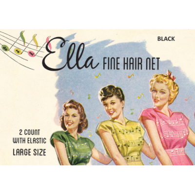 Ella Fine Hair Net different colours in the group Hair and skincare / Ladies hairstyling / Hair nets and scarves at Sivletto - Skylark AB (8650)