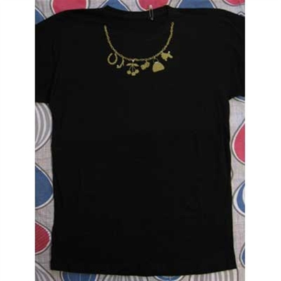 Necklace tee in the group Clearance / Women / Tops etc at Sivletto (8898)