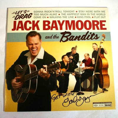 Atenzia Jack Baymoore and the Bandits - Let's Drag (VINYL) in the group Misc / Music / Vinyl at Sivletto (8992)