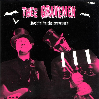 Thee Gravemen - Rockin' The Graveyard / Tornado in the group Misc / Music / Vinyl at Sivletto (9150)