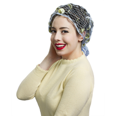 Snug Set Deluxe Triangle Hair Net in the group Hair and skincare / Ladies hairstyling / Hair nets and scarves at Sivletto - Skylark AB (9459)