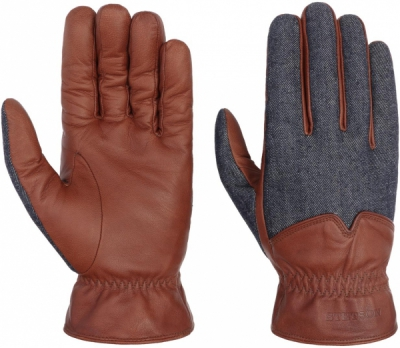 Stetson Gloves Goat Nappa/Denim in the group Men / Accessories at Sivletto - Skylark AB (94972-12-68)