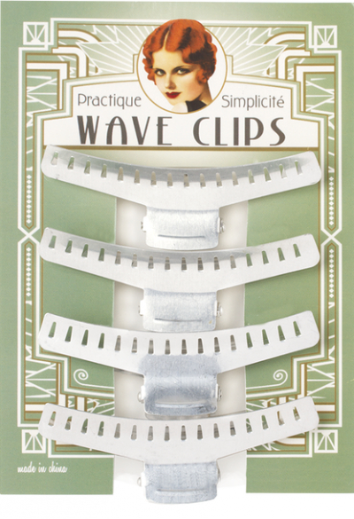 Practique Wave Clips 4 inch in the group Hair and skincare / Ladies hair tools at Sivletto - Skylark AB (9558)