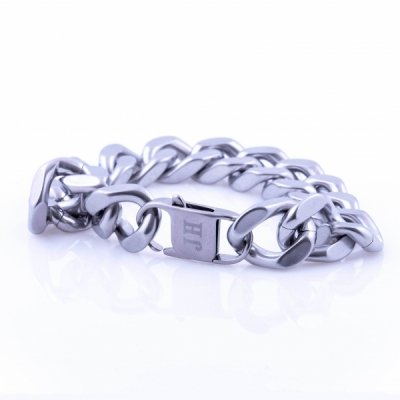 Jernhest Chriz Silver Bracelet in the group Men / Accessories / Jewelry at Sivletto - Skylark AB (ACz17200-OS)
