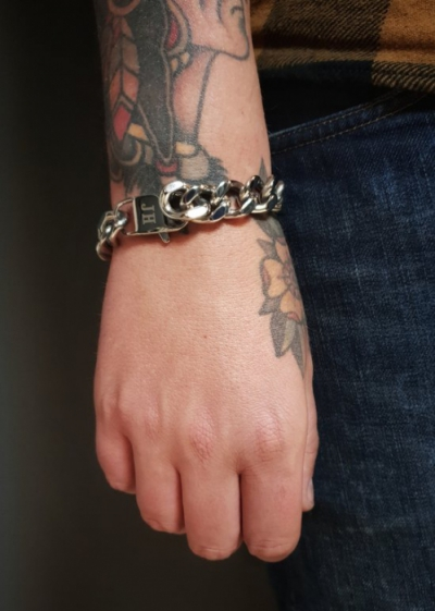 Jernhest Sonny Silver Bracelet in the group Denim / Accessories at Sivletto (ASy18100)
