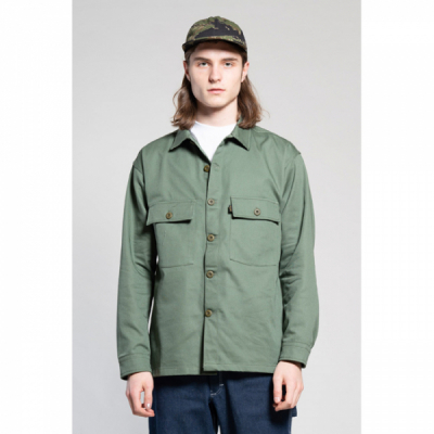 Stan Ray CPO Shirt Olive in the group Men / Shirts, long sleeve at Sivletto - Skylark AB (AW191200113)