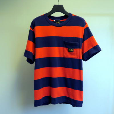 Stan Ray SS Football Tee Midnight/Red in the group Clothes / T-shirts at Sivletto - Skylark AB (AW192400120)