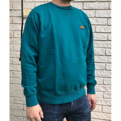 Stan Ray Workers Crew Sweat Carbon Green in the group Men / Sweaters at Sivletto - Skylark AB (AW192600134)