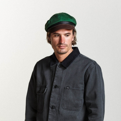 Brixton Montreal Cap Hunter/Brown in the group Men / Headwear / Sailor hats at Sivletto - Skylark AB (BRIXTON-00418)