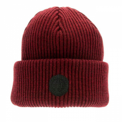 CTH Tyson Rib knit beanie wine in the group Men / Headwear / Beanies at Sivletto - Skylark AB (CTH2)
