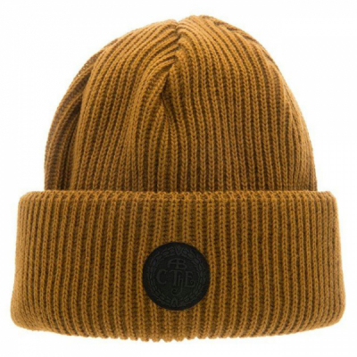 CTH Tyson Rib knit beanie mustard in the group Clothes / Headwear at Sivletto - Skylark AB (CTH3)