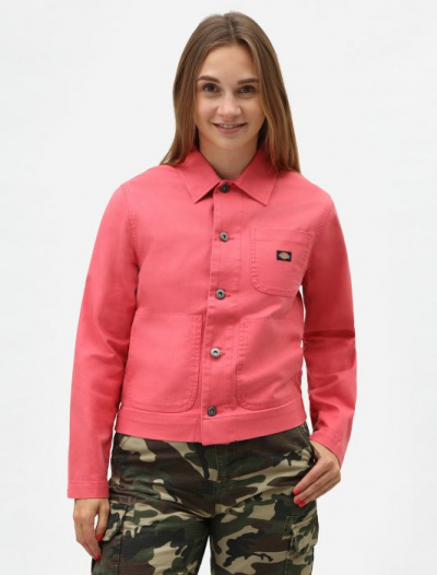 Dickies Toccoa Women's Unlined Chore Jacket Rose in the group Sale! / Women / Tops, jackets etc at Sivletto - Skylark AB (DK0A4TMLRRO)