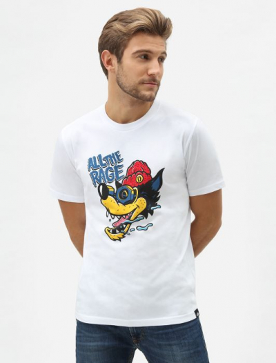Dickies Reidsville Tee White in the group Clearance / Men / T-shirts at Sivletto - Skylark AB (DK0A4TNPWHX)