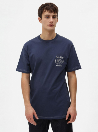 Dickies Halma T-shirt Navy Blue in the group Clothes / T-shirts at Sivletto - Skylark AB (DK0A4X9NNV0)
