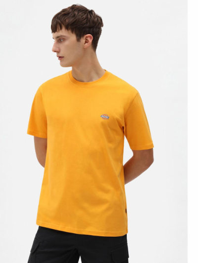 Dickies Mapleton T-Shirt Cadnium Yellow in the group Clothes / T-shirts at Sivletto - Skylark AB (DK0A4XDBB59)