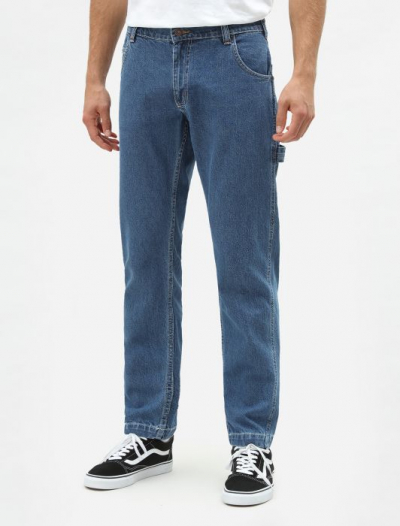 Dickies Hillsdale Denim Carpenter Pant in the group Men / Mens Pants at Sivletto - Skylark AB (DK123039CLB1)