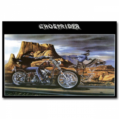 David Mann Ghost Rider poster print in the group Home and stuff / Home Decor at Sivletto - Skylark AB (DM1)