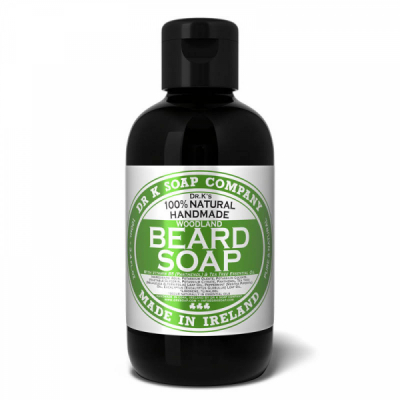 Dr K. Beard Soap Woodland in the group Hair and skincare / Mustache and beard / Beard Wash at Sivletto - Skylark AB (DRK-054)