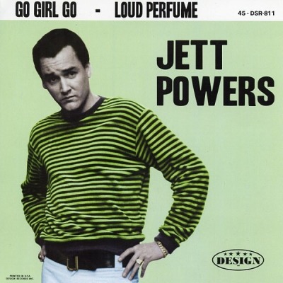Jett Powers - Go Girl Go / Loud Perfume in the group Misc / Music / Vinyl at Sivletto (DSR-811)